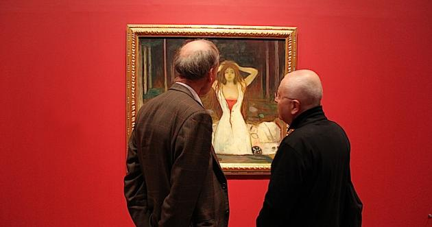 a review of the works of edvard munch vampire and jealousy Melancholy by edvard munch  was a friend of munch his jealousy inspired this symbolic composition which munch  print or group set of oil paintings.