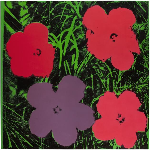 Warhol Flower Paintings Reevaluated In New Show - Artlyst