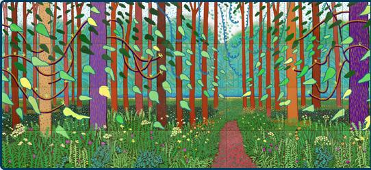 David Hockney Unveils A Bigger Picture In Cologne Germany