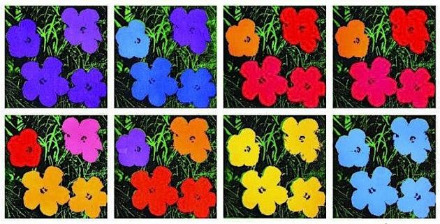 Andy Warhol The Flower Paintings New Exhibition Artlyst