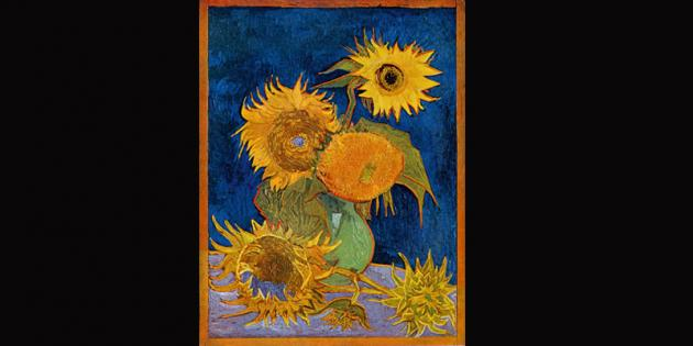 lost van gogh sunflower painting photograph uncovered