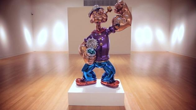Jeff Koons Popeye Set To Make 25m At Auction In New York