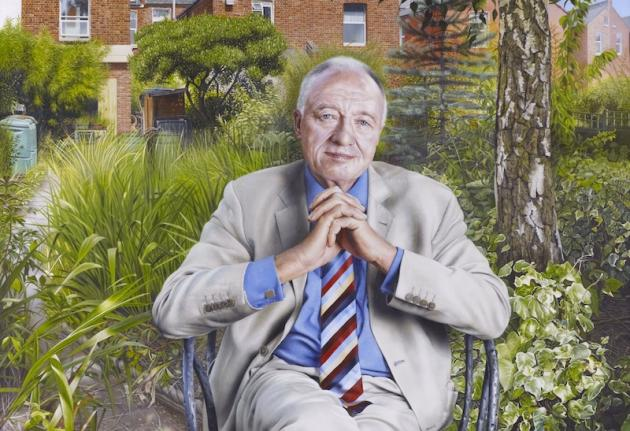 Ken Livingstone Painting By Andrew Tift Goes On Display At