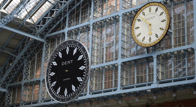 Cornelia Parker Unveils Reversed Clock Installation At St