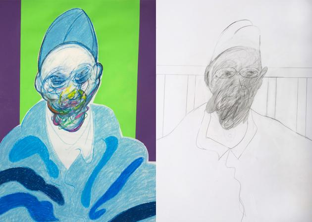francis bacon controversy  unauthenticated drawings go on