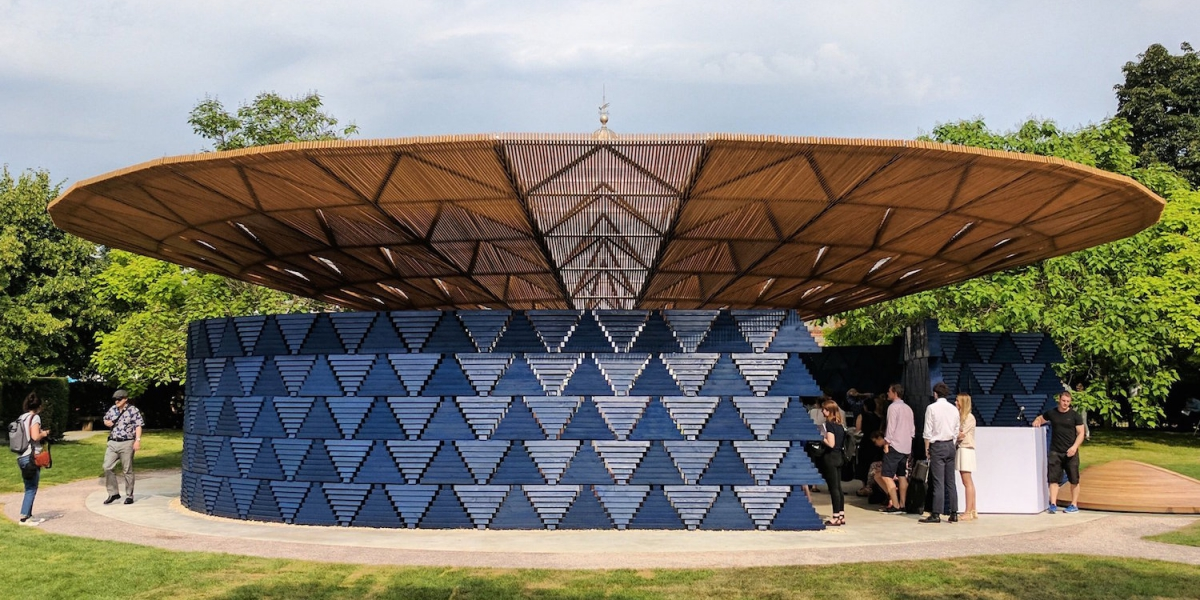 Serpentine Pavilion By African Architect Diebedo Francis Kere Unveiled