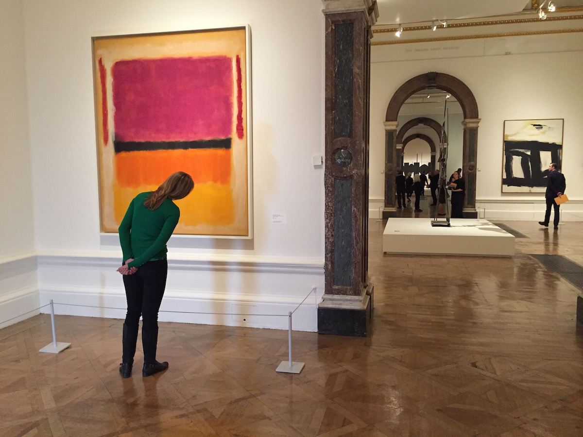 360 Degree Tour of the Abstract Expressionism at Royal Academy