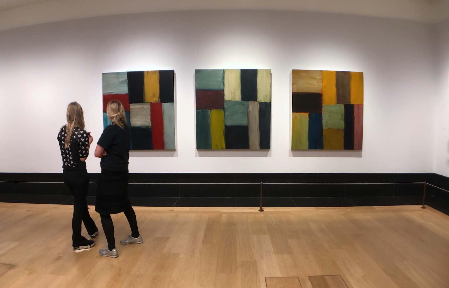 sean-scully-national-gallery-Artlyst©