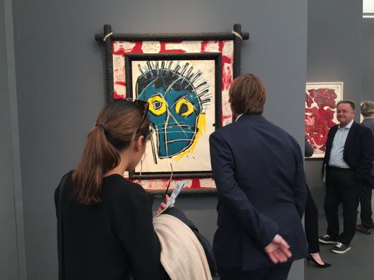 Jean-Michel Basquiat,Frieze Masters 2016