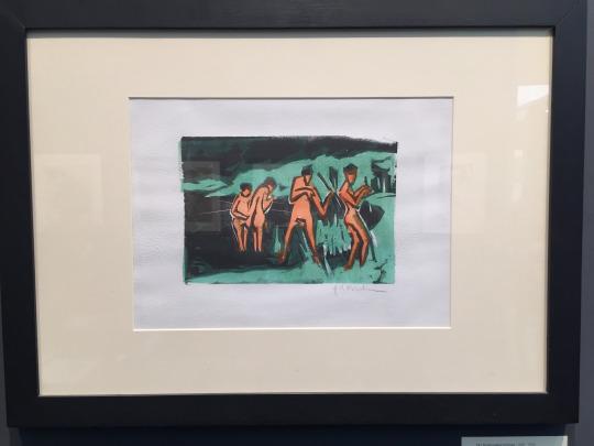 Ernst Ludwig Kirchner, Simon Theobald,Frieze Masters 2016