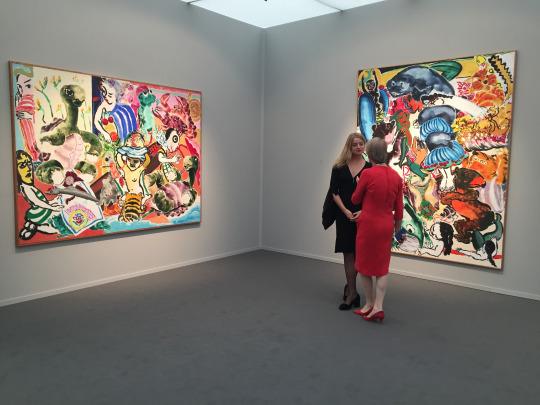 Paula Rego, Marlborough Fine Art,Frieze Masters 2016