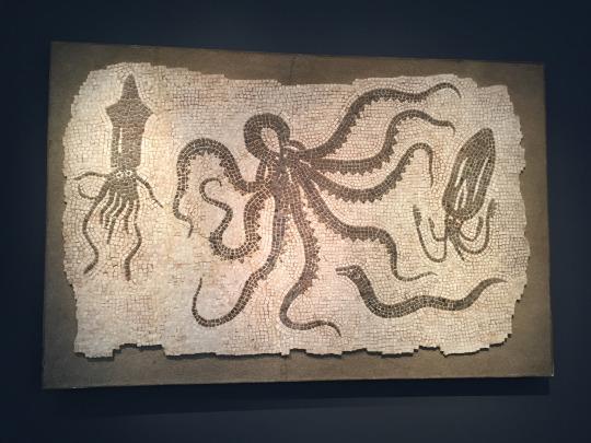 Roman mosaic,Frieze Masters 2016