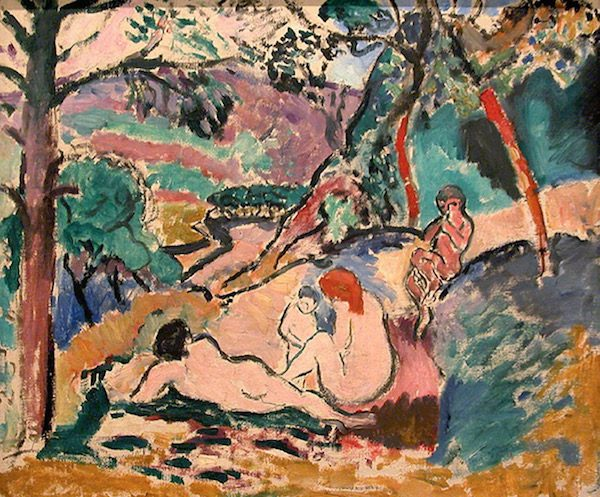 Henri Matisse's La Pastorale (Pastoral, 1906). The artwork was one of five paintings stolen from the City Museum of Modern Art in Paris
