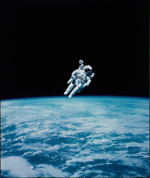 NASA Spacewalk Photo
