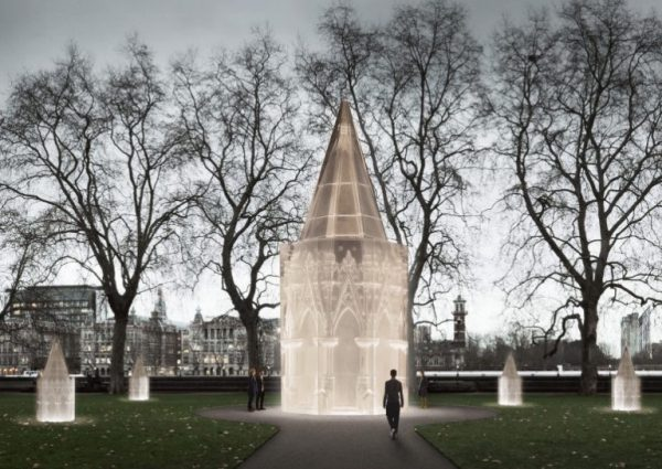 Rachel Whiteread's Design For The UK Holocaust Memorial
