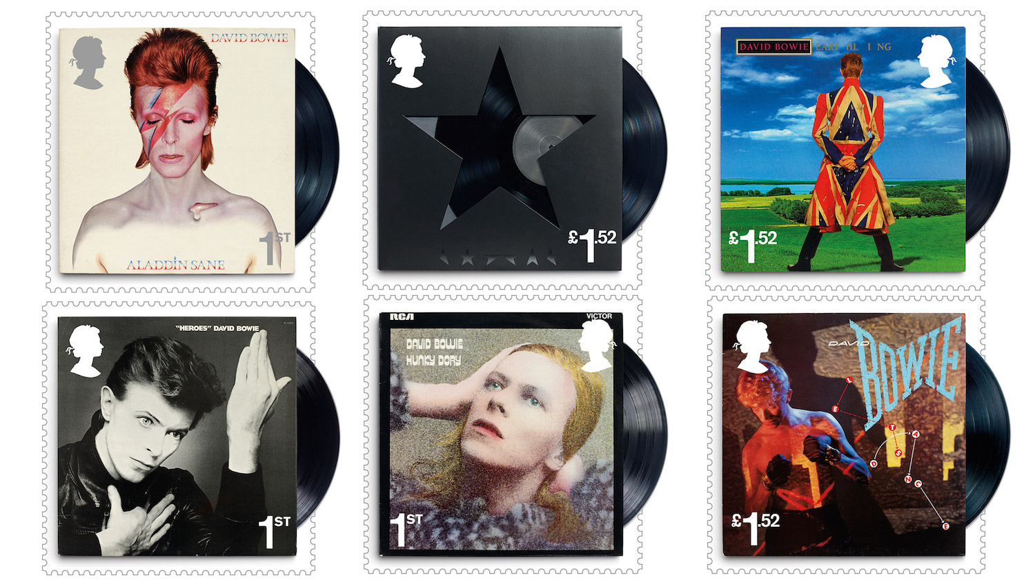 David Bowie Album Art To Be Issued As Official Royal Mail Stamps