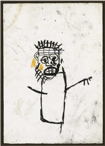 Basquiat Untitled Drawing Collection Adam Clayton U2