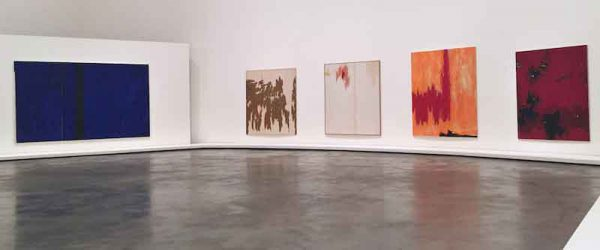 Clyfford Still Abstract Expressionist Exhibition Bilbao