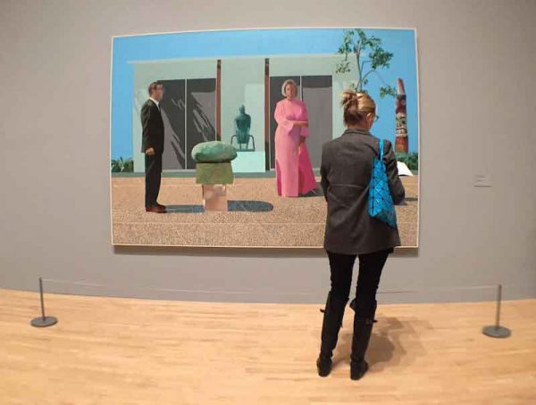 Hockney Exhibition collector Tate Britain