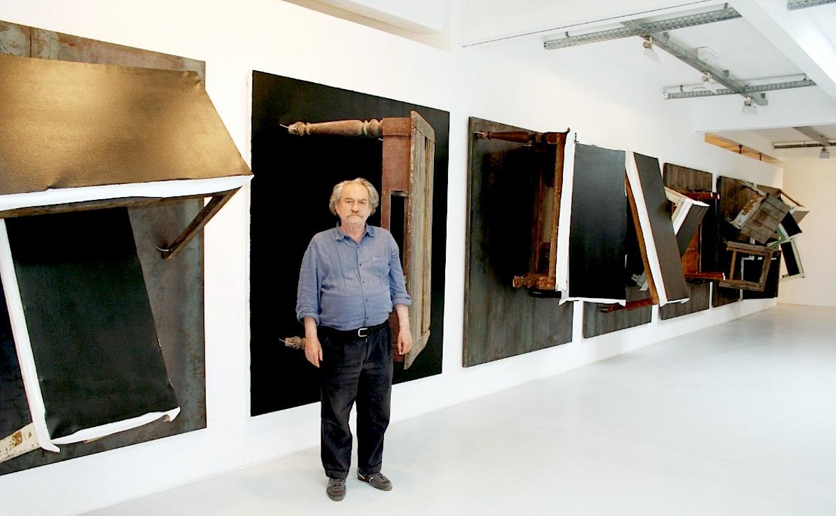 Jannis Kounellis Arte Povera Associated Artist Dies At 80
