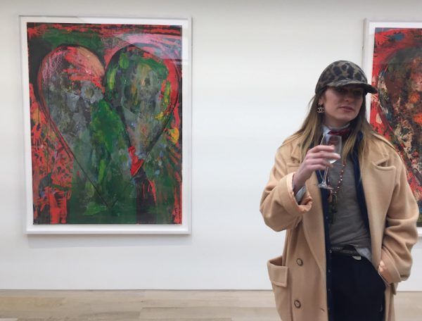 Jim Dine Hearts Poets Singing Alan Cristea Gallery