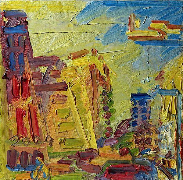 Frank Auerbach Courtesy Ben Uri Gallery London