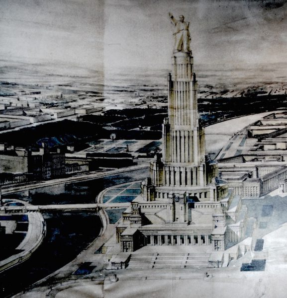 Proposal For Gigantic Palace of the Soviets