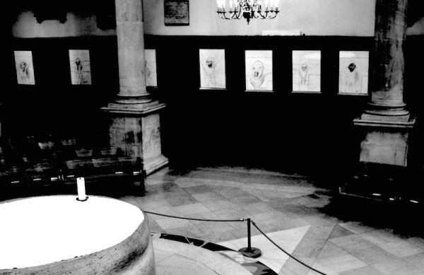 Disputed Francis Bacon Drawings On Display At St Stephens Walbrook London