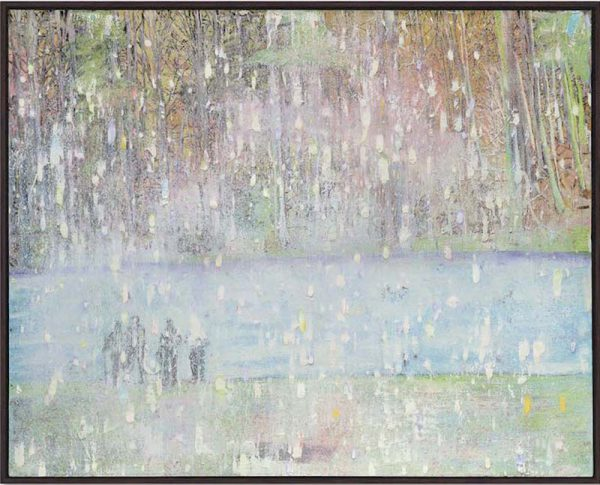 Peter Doig's blinding snow scene Cobourg 3 + 1 More