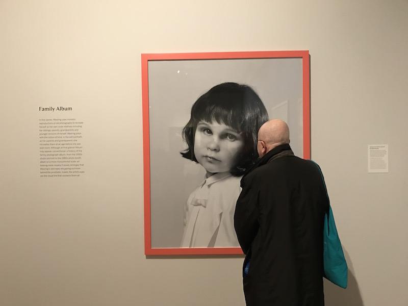 Gillian wearing Claude Cahun National Portrait Gallery
