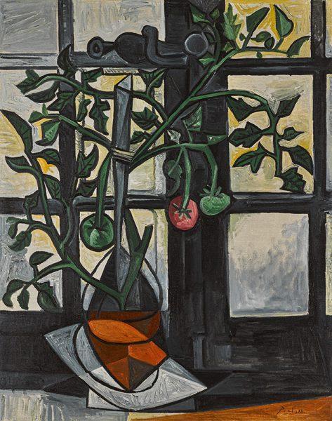 Pablo Picasso's Plant de tomates of 1944