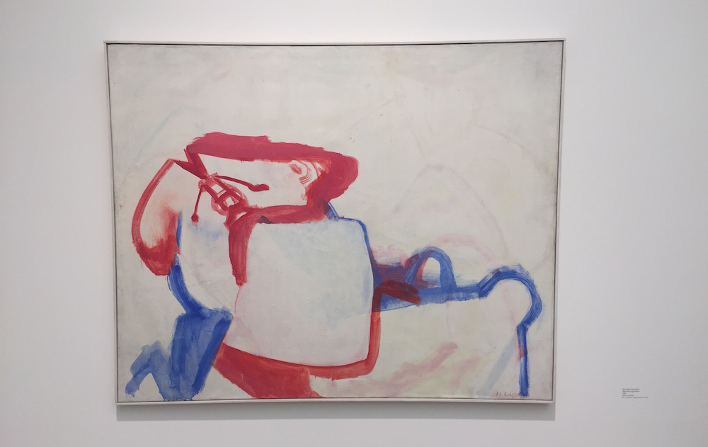 Maria Lassnig Painting Survey Hauser and Wirth