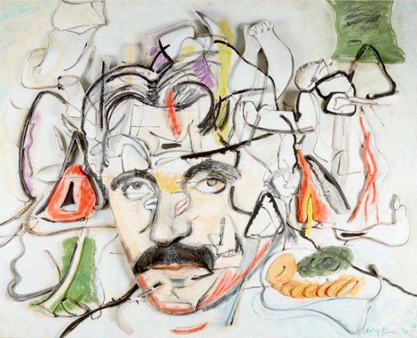 Larry Rivers (American 1923-2002), Art and the Artist: Portrait and Painting of Arshile Gorky. Estimate: $20,000-30,000