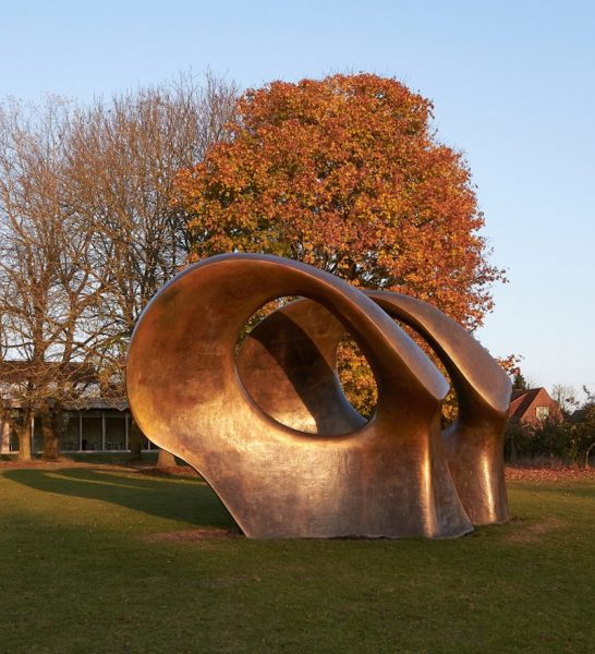 Henry Moore Foundation And Garden