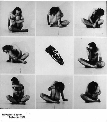 Vito Acconci Seminal Performance Art Pioneer Dies
