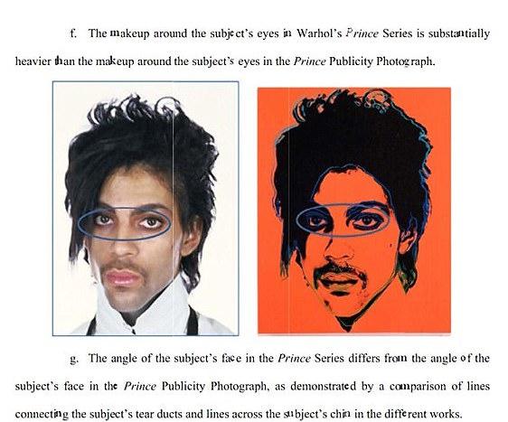Court Doc Warhol Prince vs Lynn Goldsmith