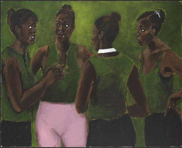 Lynette Yiadom-Boakye,Under-Song For A Cipher