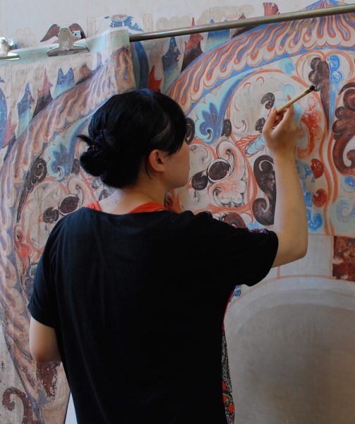 Dunhuang Cave Art Recreated In London