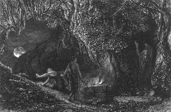 The Sepulchre Samuel Palmer