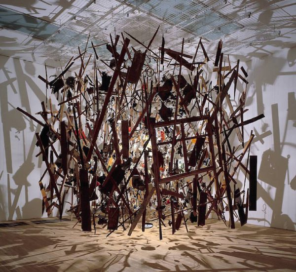 Cold Dark Matter: An Exploded View 1991 © Cornelia Parker
