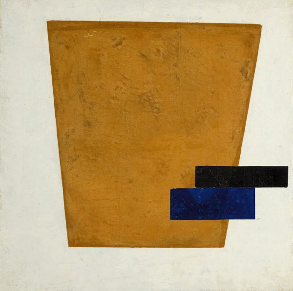 Kazimir Malevich's Suprematist Composition with Plane in Projection sold for $21.2