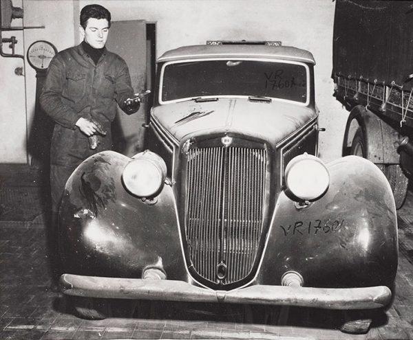 Dictator Benito Mussolini's car.
