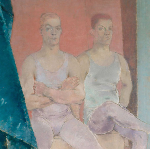 Acrobats Waiting to Rehearse, Glyn Philpot, 1935