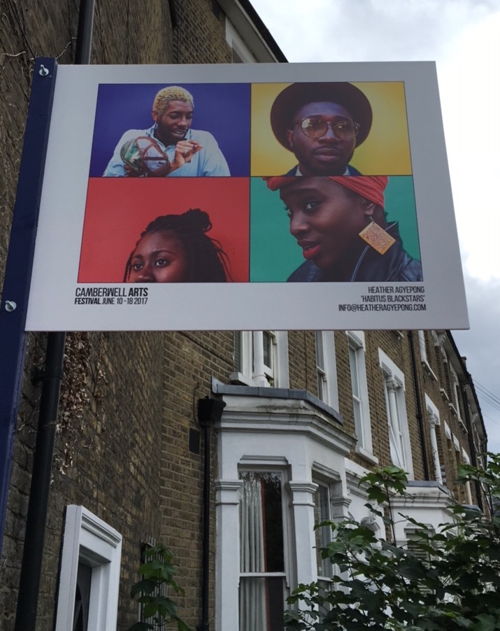 Camberwell Arts Festival 2017 Heather Agyepong
