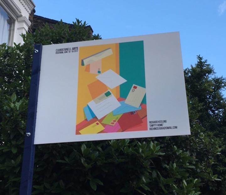 Camberwell Arts Festival 2017 Richard Keeling