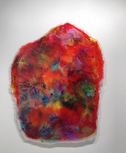 Daniel Knorr, Depression Elevations, pigmentierter Polyurethanguss, UV-bestandig – 225x180x6cm