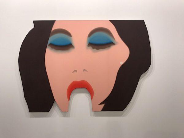 Tom Wellselmann, Face #5, 1967-68 – oil on canvas, 130,8 x 190,5 cm