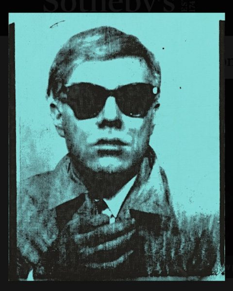 Andy Warhol, Self-Portrait, 1963-64. Sold for £6,008,750.