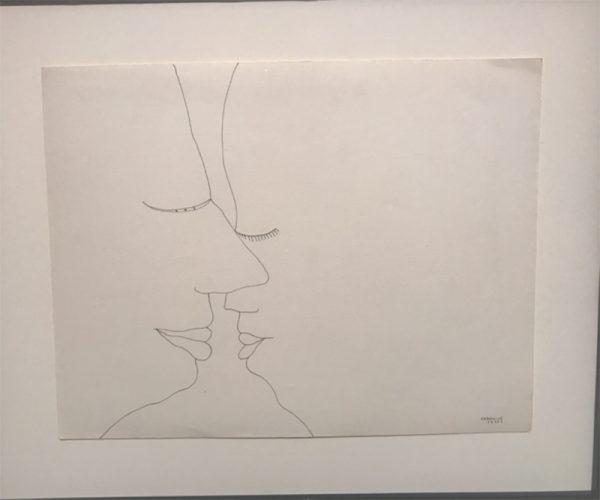 of Lebanese artist Huguette Caland