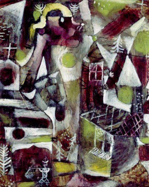 Paul Klee 'Swamp Legend' (1919)